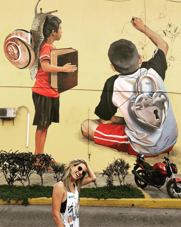 Streetart in Lima
